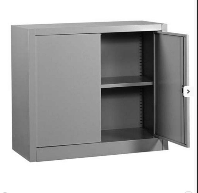 Sopralzo metallico per armadio con ante a battente 120x45x88h